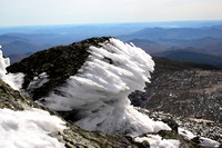 Rime Ice on Mt. Washington Summit