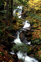 The top of Triple Falls in New Hampshire
